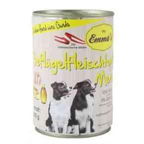Emma´s Geflügelfleischtopf Menü, Nassfutter Hund, Feuchtfutter, getreidefrei