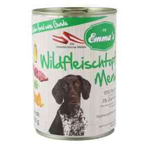 Emma´s Nassfutter Hund Wildfleischtopf Menü