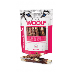 WOOLF Enten Twister, 100g