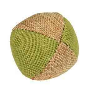 Ball Nature aus Leinen