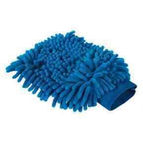 Putzhandschuh Microfaser royal blau 20x15 cm