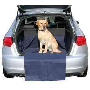 Autoschondecke für Kofferraum inkl. Reisetrinkflasche (z.B. für A3, Golf, Astra)