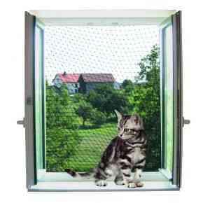 Katzenschutznetz , transparent