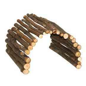• aus Naturholz • flexibel einsetzbar als Unterschlupf, Brücke, Leiter usw.