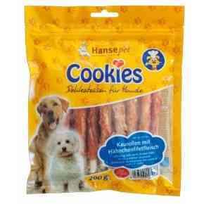 Cookies Hähnchenfilet auf Kaurolle, 200g