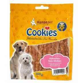 Cookies Hühnchen Reis- Sticks, 200g