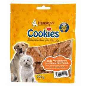 Cookies Zarte Miniknochen aus Hühnerfiletfleisch, 200g