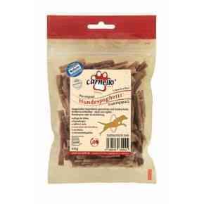 Hundespaghetti Tr.Pkg., 100 g, vom Schwein