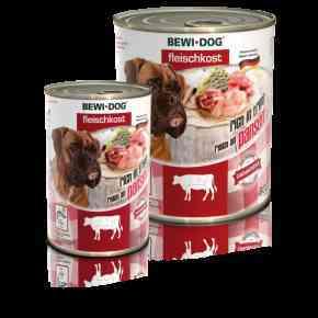 Bewi Dog Fleischkost - Reich an Pansen