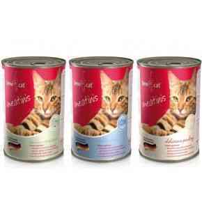 Bewi Cat Meatinis, 400 g, verschiedene Geschmacksrichtungen