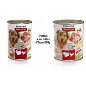 Bewi Dog Fleischkost - Reich an Geflügel Hunde Nassfutter