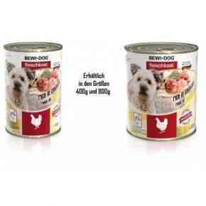 Bewi Dog Fleischkost - Reich an Huhn Nassfutter Hund