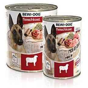 Bewi Dog Fleischkost - Reich an Lamm Nassfutter Hund