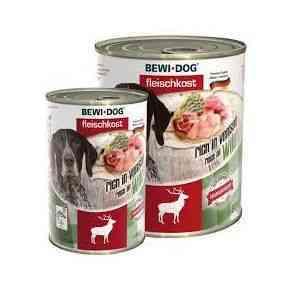 Bewi Dog Fleischkost - Reich an Wild Nassfutter Hund