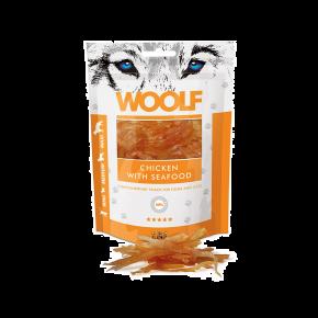 WOOLF Hühnchen & Meeresfrüchte, 100 g