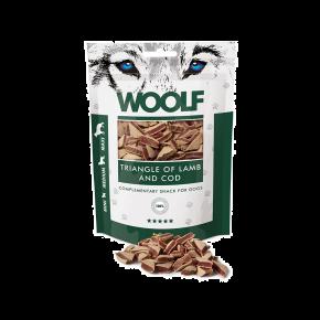 WOOLF Lamm & Kabeljau Dreiecke, 100 g